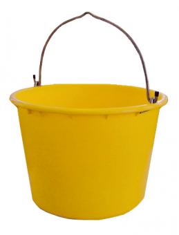 Baueimer kranbar gelb/ blau