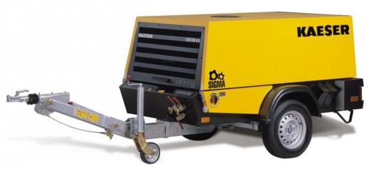 KAESER Mobiler Baukompressor - Mieten