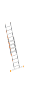 Layher Stufenschiebeleiter TOPIC 1032