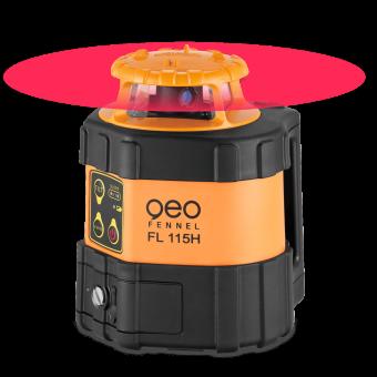 geo-FENNEL Horizontallaser FL 115H inkl. Empfänger FR 45