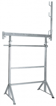 Kurbelgerüstbock verzinkt, H 1,20 - 1,95 m